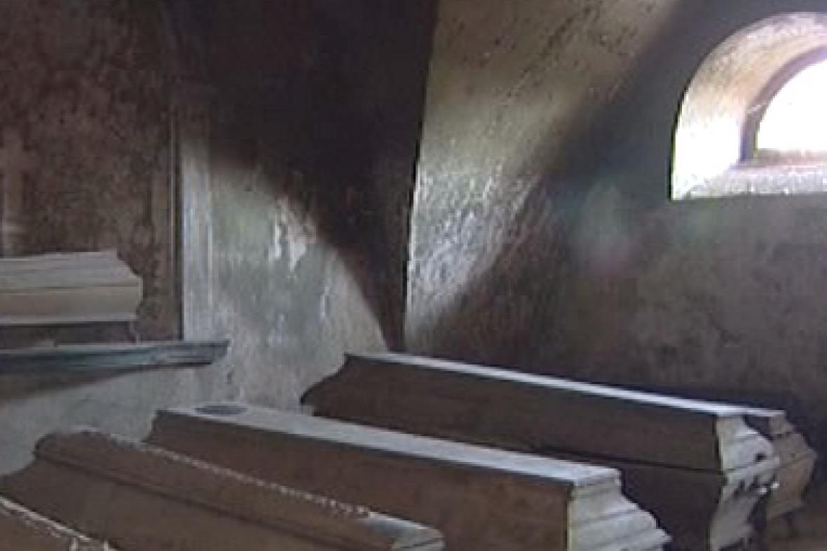 Hrobka s mumiemi
