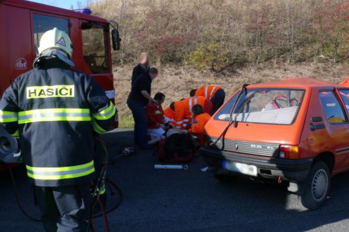 Záchrana zraněného