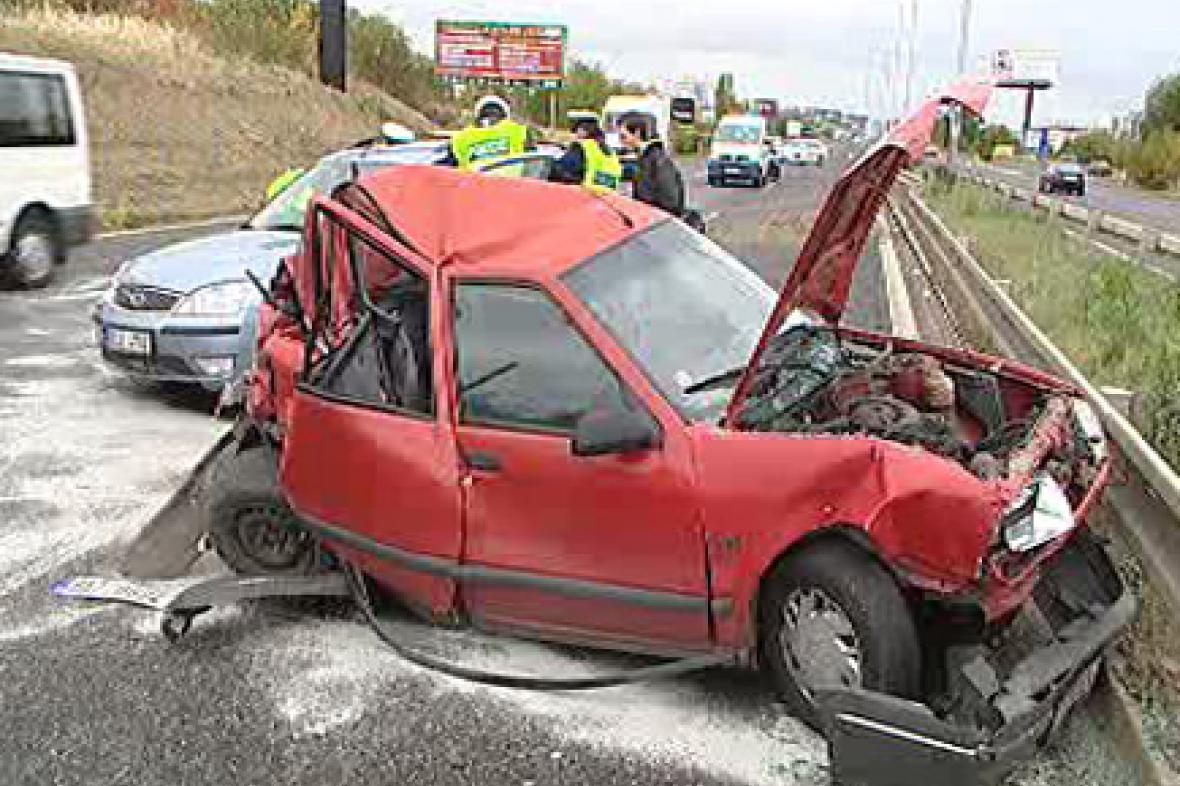 Policie u nehody
