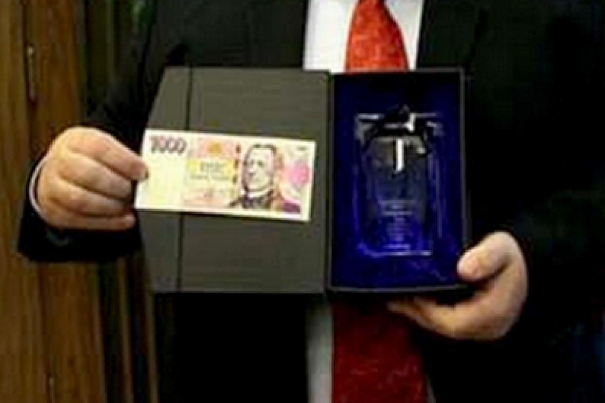 Bankovka roku 2008