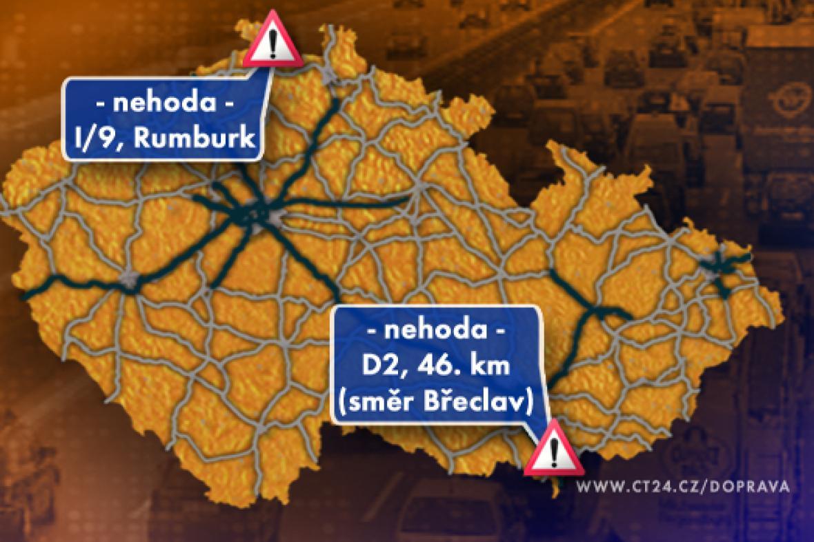 Dopravní situace v pátek 17. 10. 2008