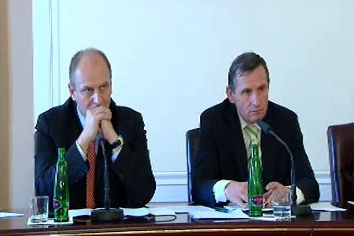 Petr Gandalovič a Jiří Čunek
