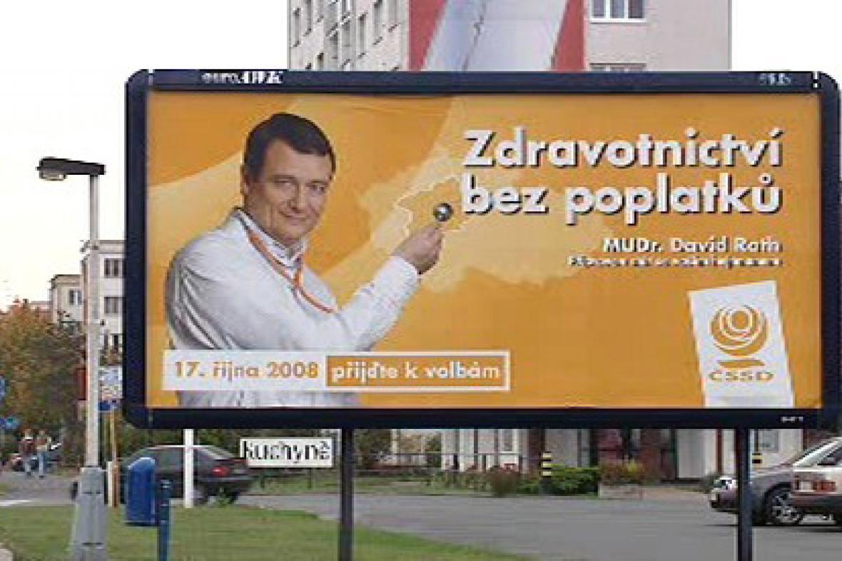 Předvolební billboard