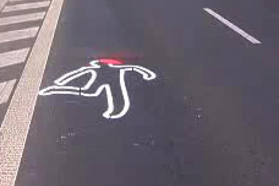 Znak na silnici