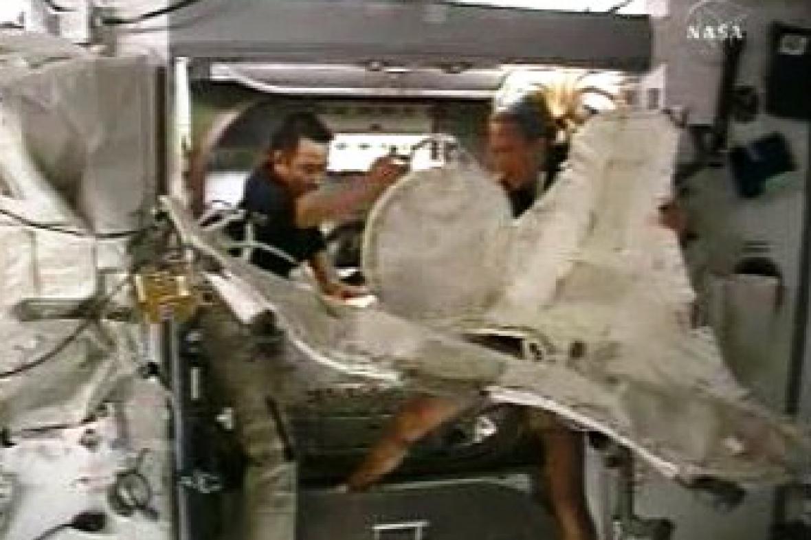 Astronauti na ISS
