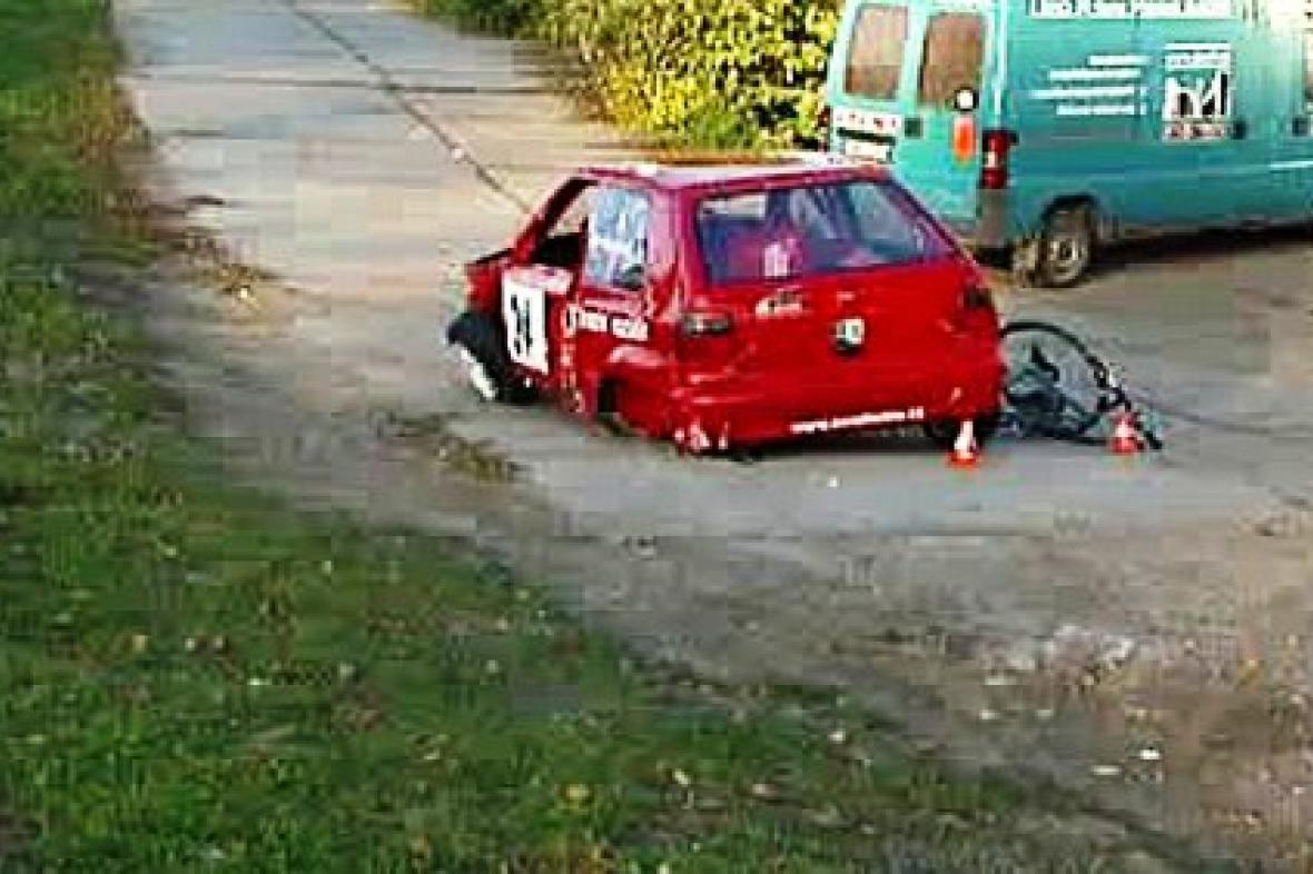 Při závodě v Ostravě byli zraněni tři diváci