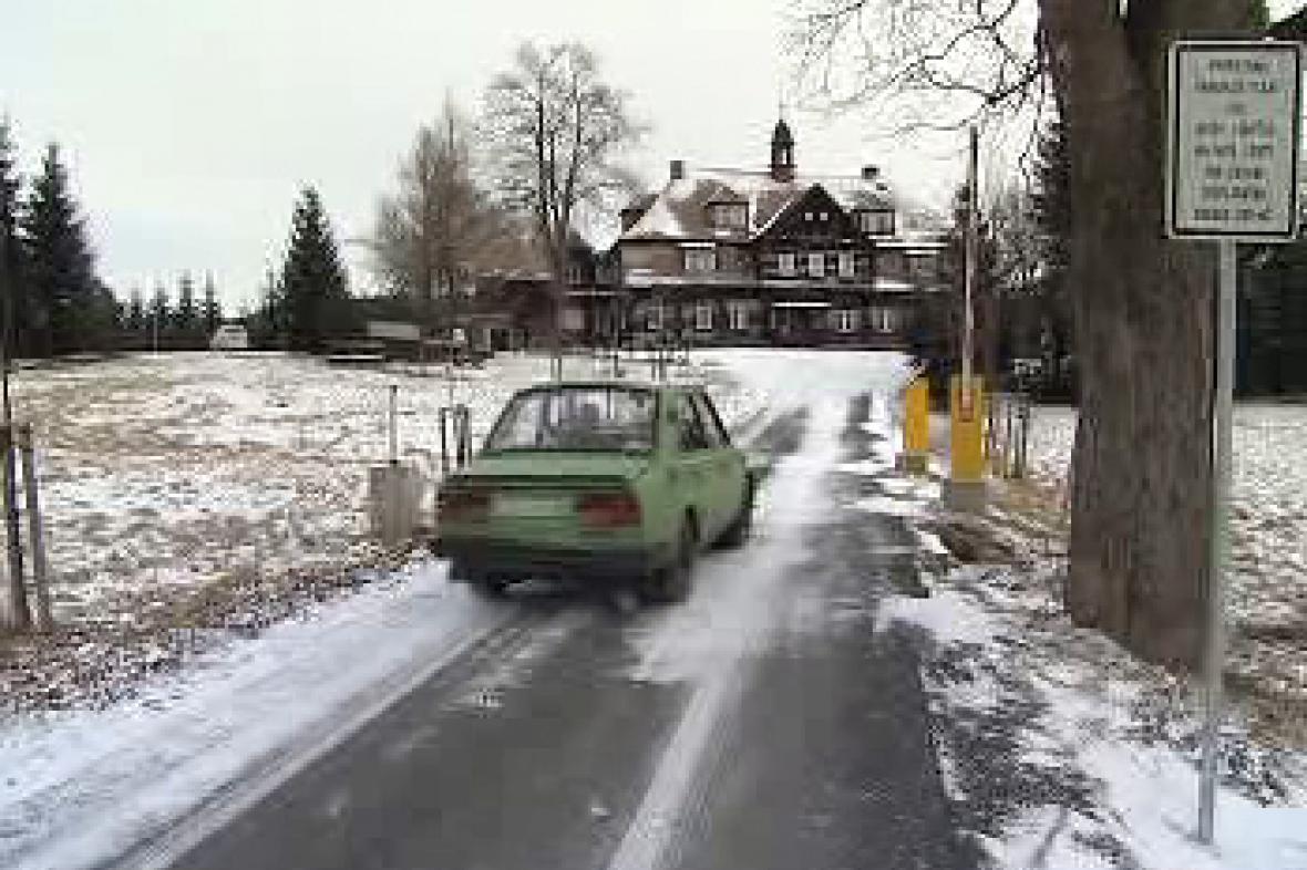 Cesta k Šámalově chatě