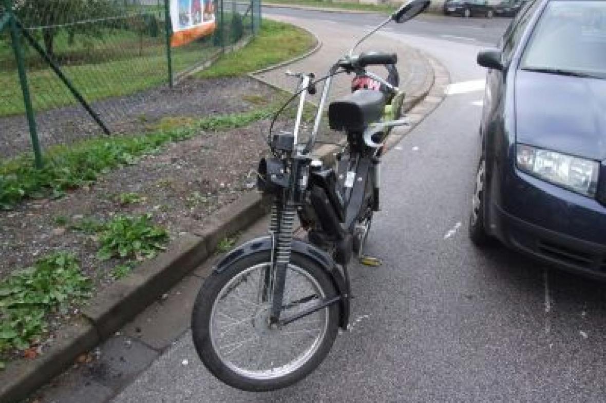 Nehoda mopedu
