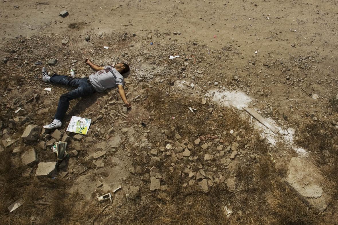 Jedna z obětí nelezných blízko Tijuany
