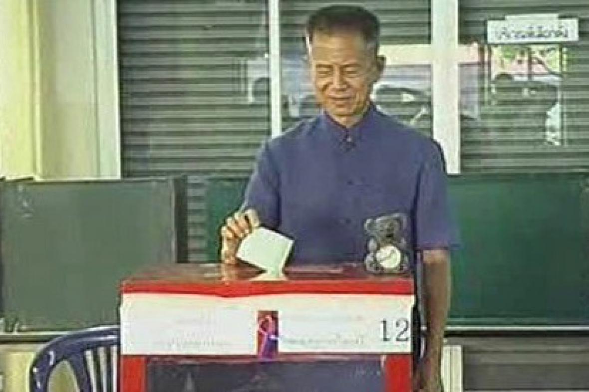 Thajský disident Srimuang