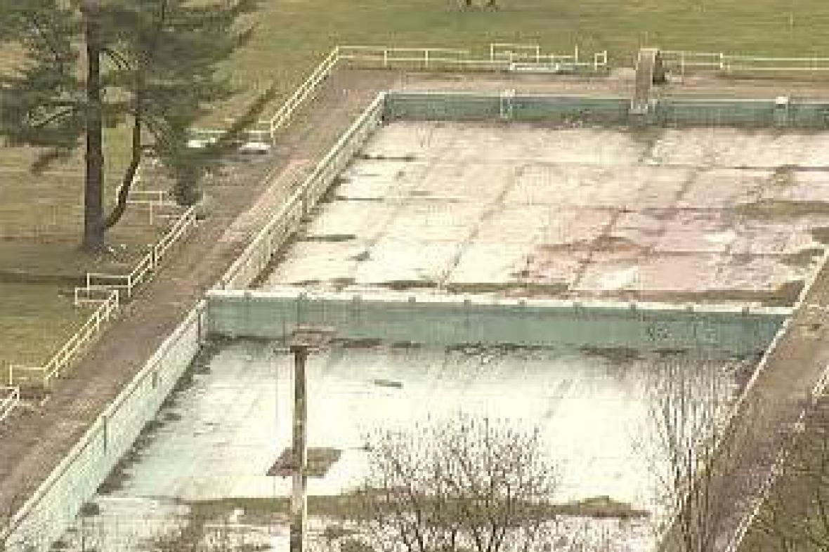 Bazén v Děčíně
