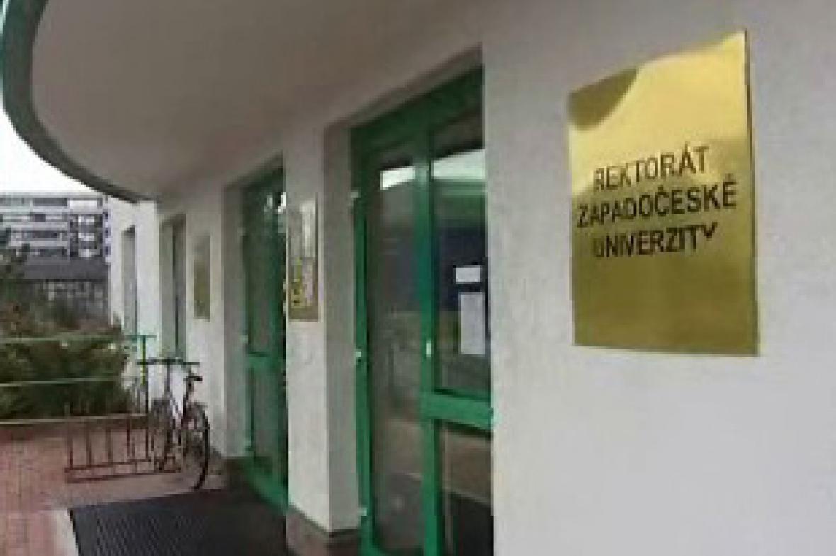 Rektorát Západočeské univerzity