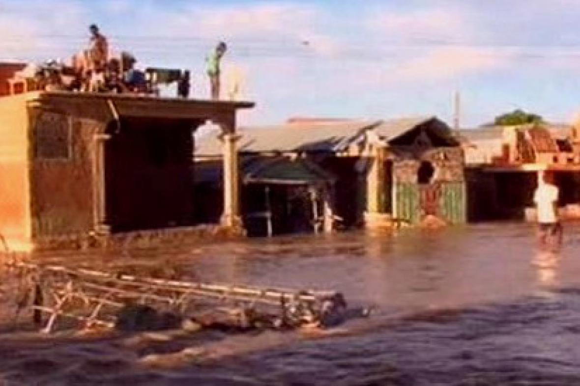 Záplavy na Haiti