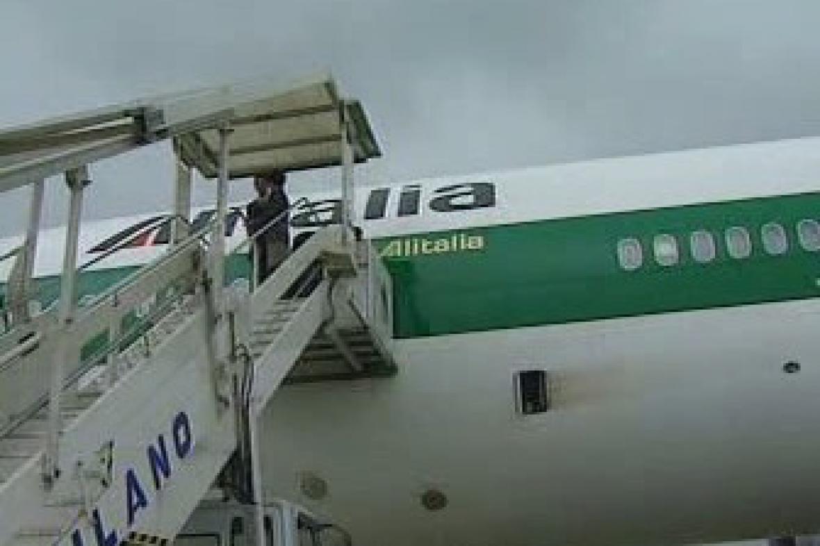 Italský přepravce Alitalia