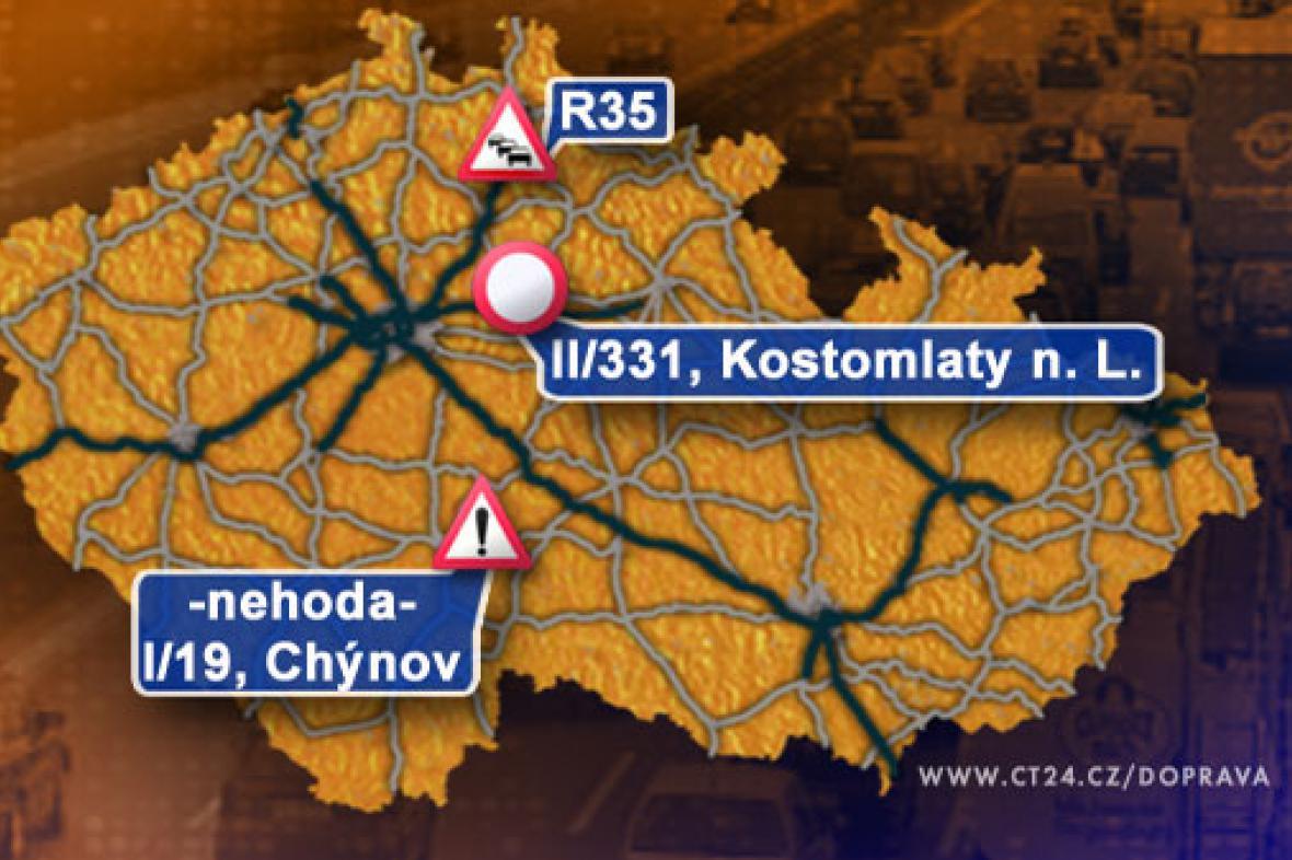Dopravní situace ve čtvrtek 2. 10. 2008