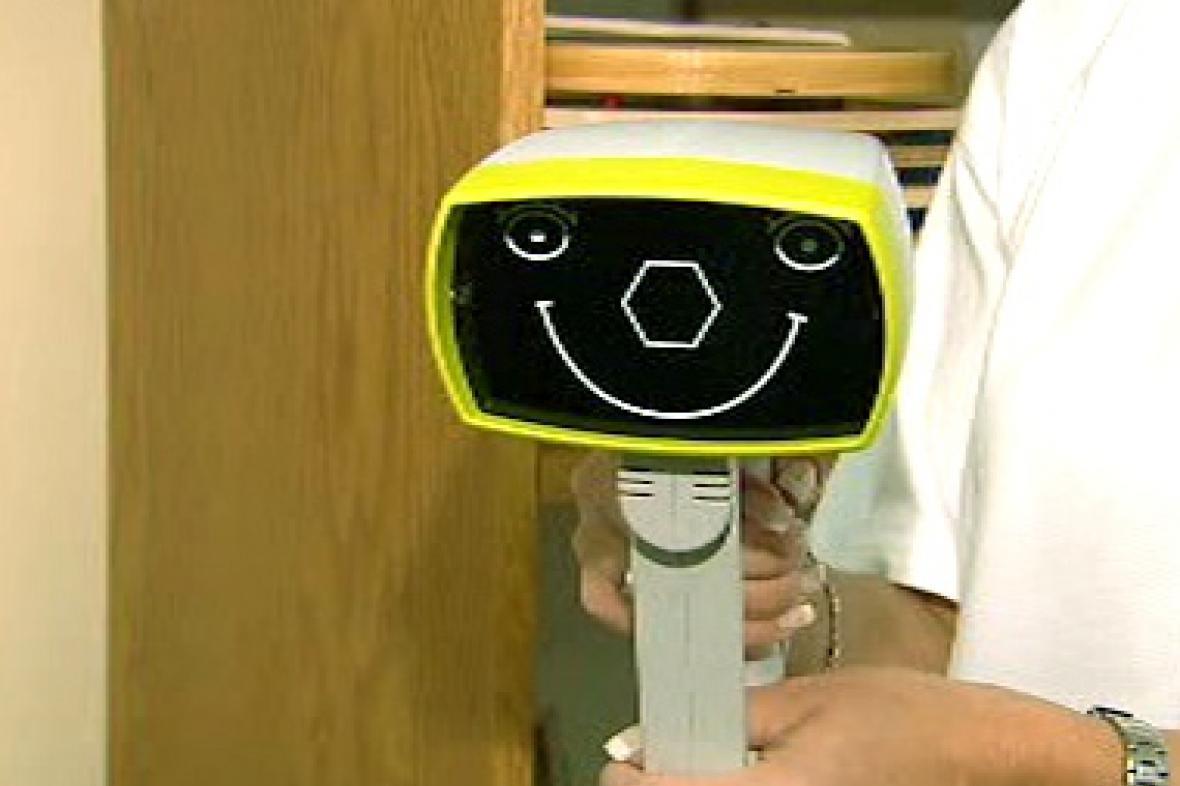 Speciální přístroj na vyšetření zraku