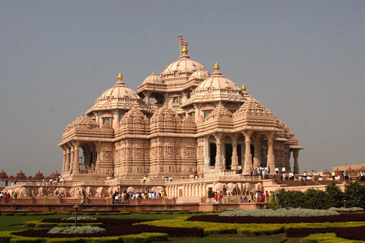 Hinduistický chrám v Indii