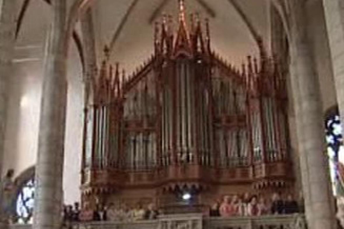 Největší české gumové varhany