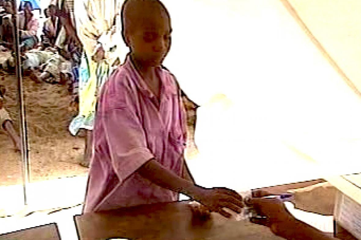 Testování malárie