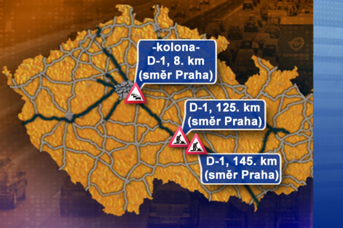 Dopravní situace ve čtvrtek 25. 9. 2008