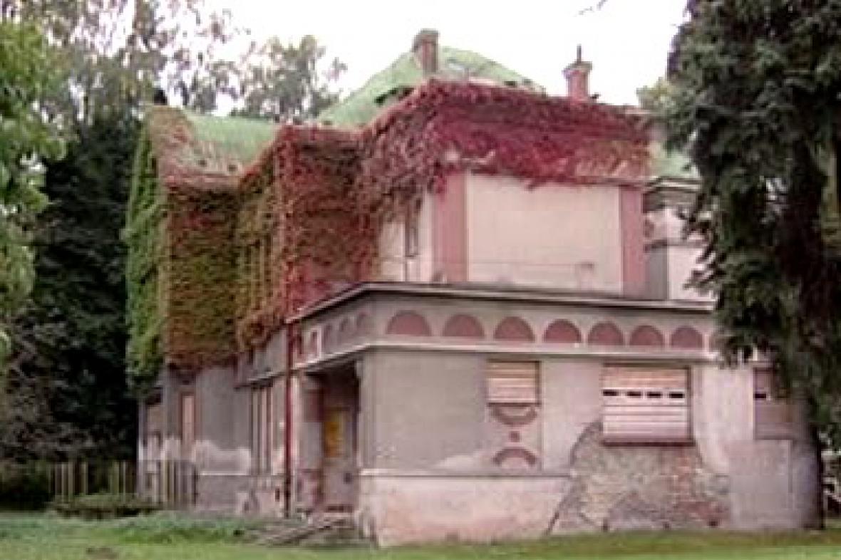 Vila královédvorského továrníka Josefa Sochora