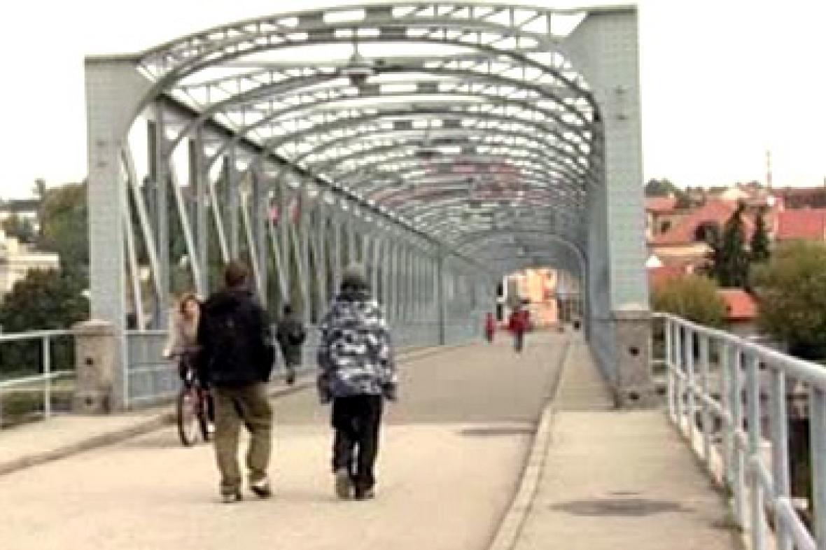 Most v Týně nad Vltavou