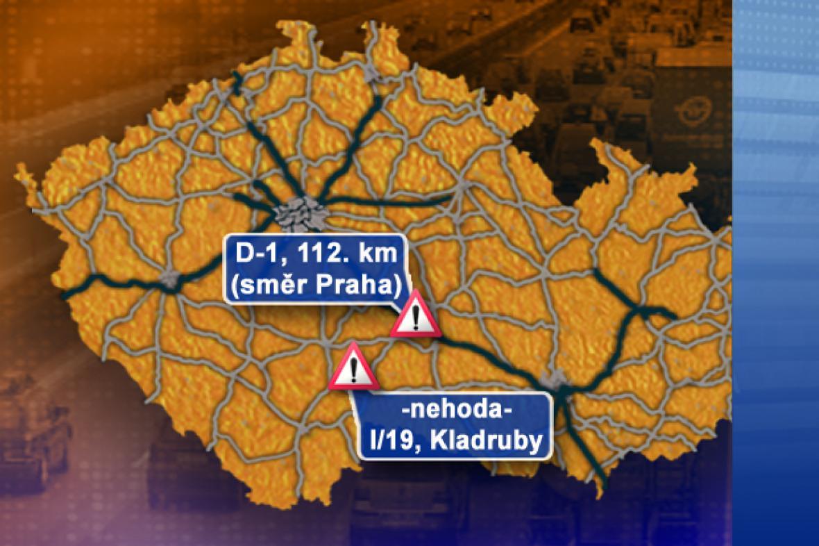 Dopravní situace v pondělí 22. 9. 2008