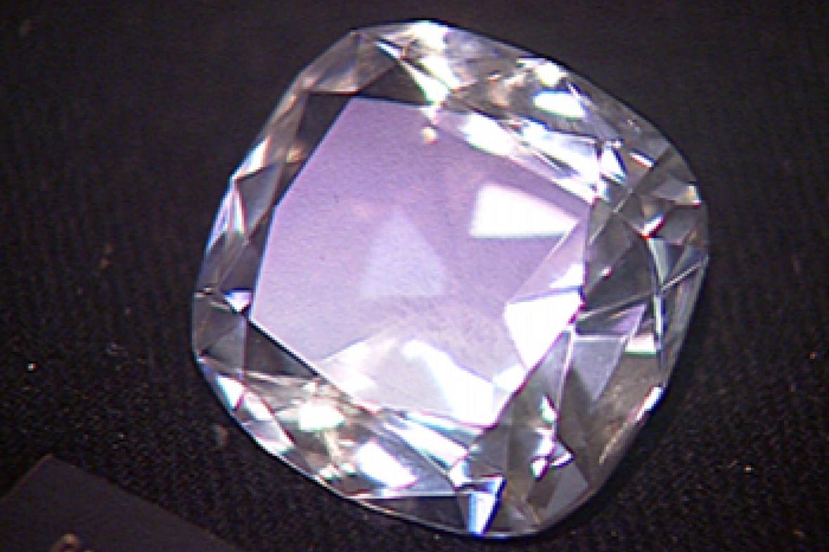 Diamant - ilustrační foto