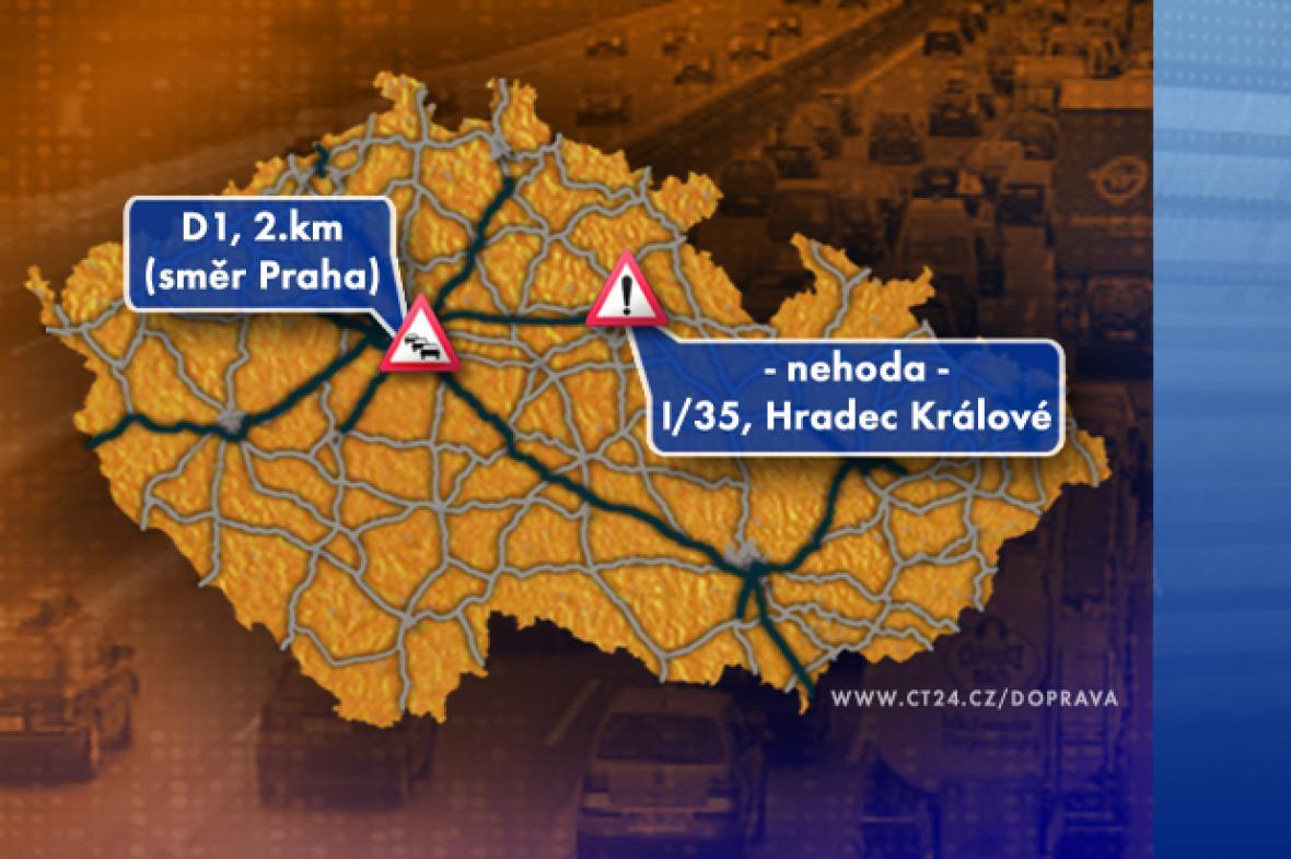 Dopravní situace v pátek 19. 9. 2008