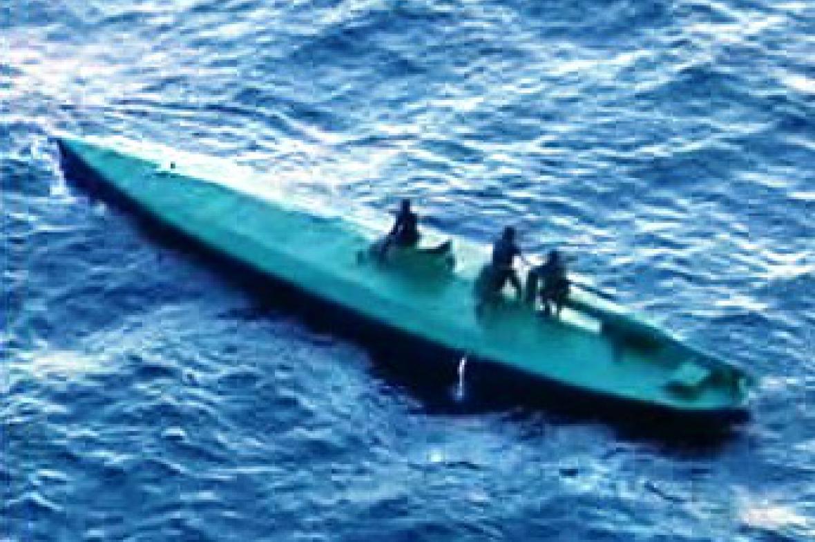 Ponorka pašeráků drog
