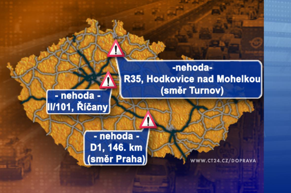 Dopravní situace ve čtvrtek 18. 9. 2008