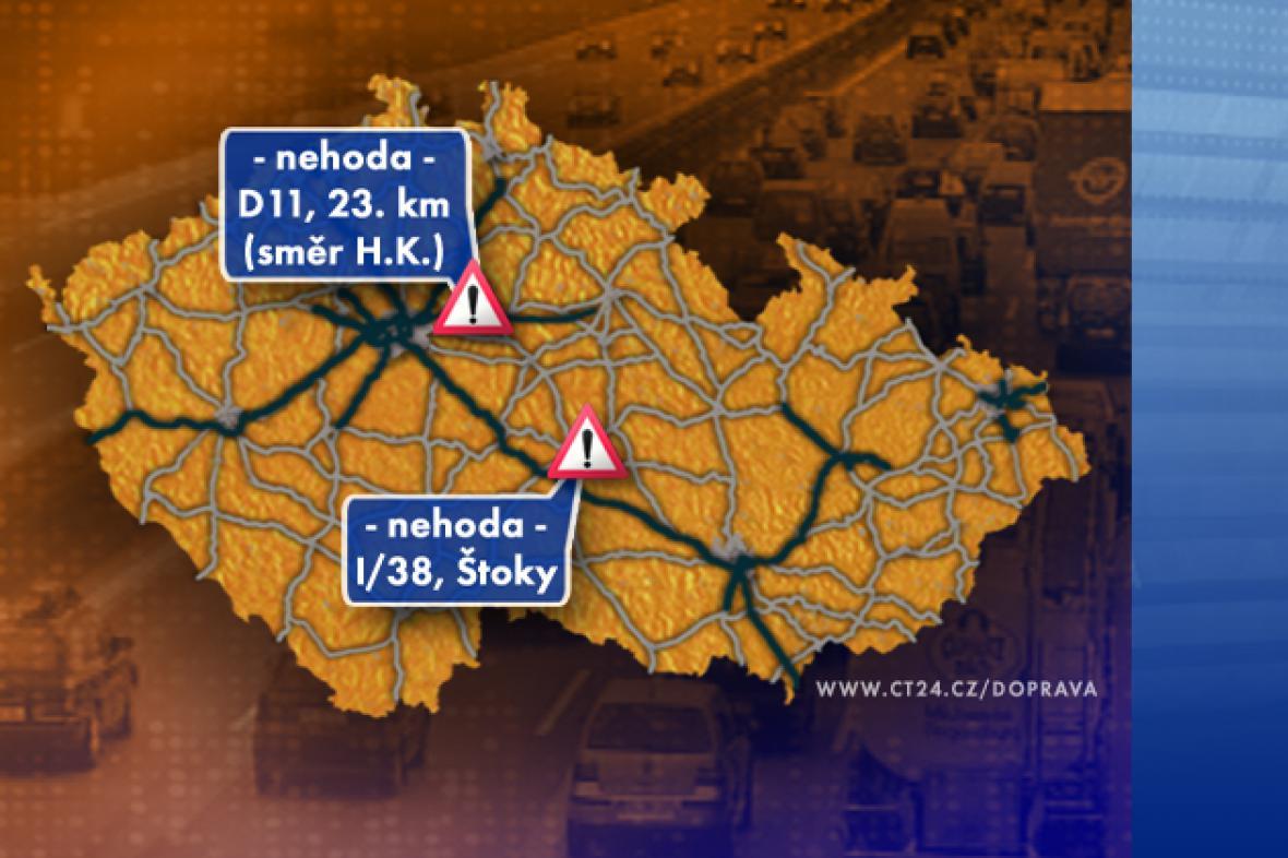Dopravní situace ve středu 17. 9. 2008