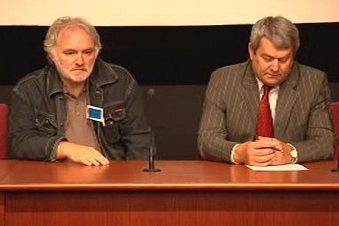 Miroslav Kačor a Vojtěch Filip