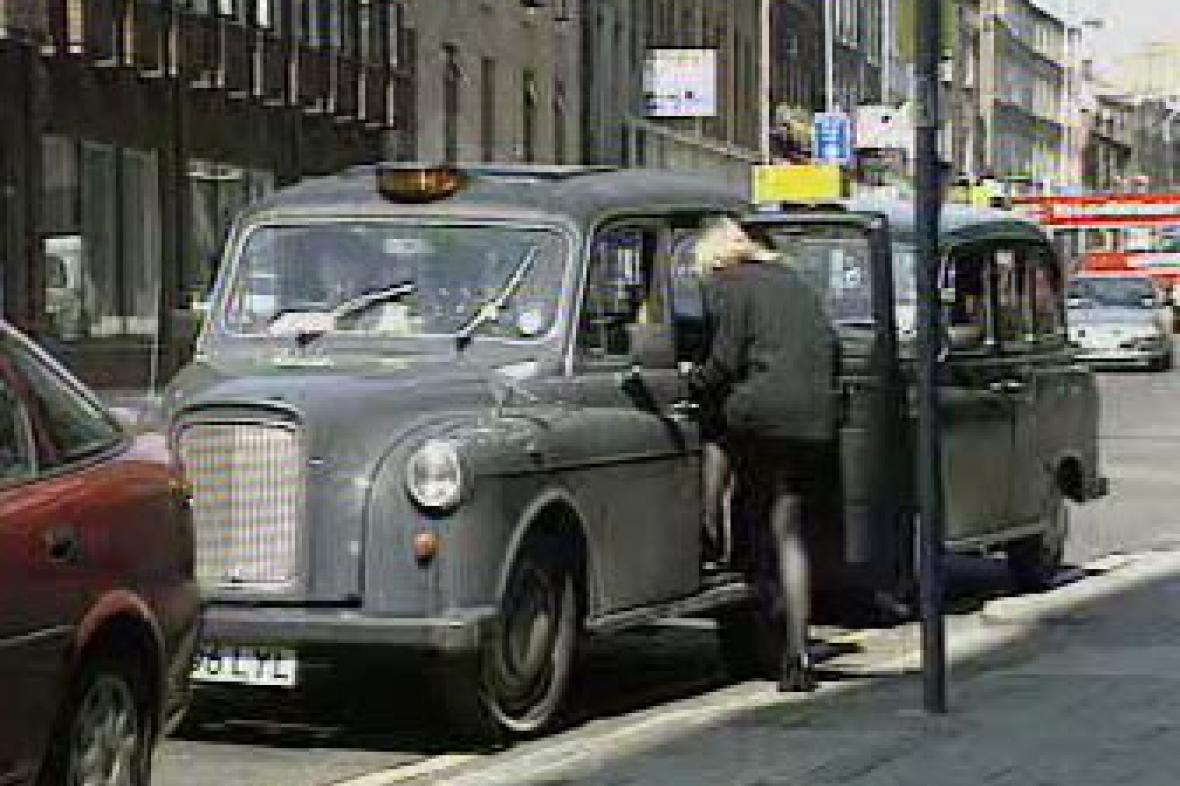 Londýnské taxi