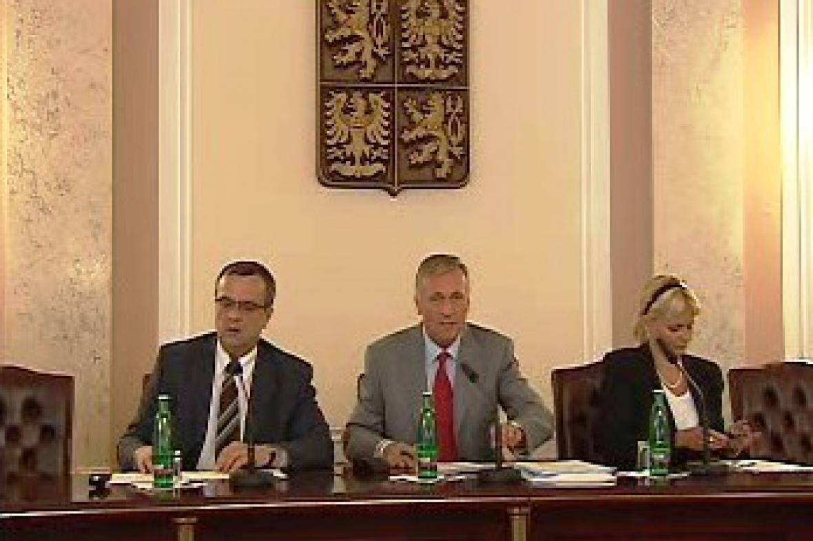 Miroslav Kalousek a Mirek Topolánek