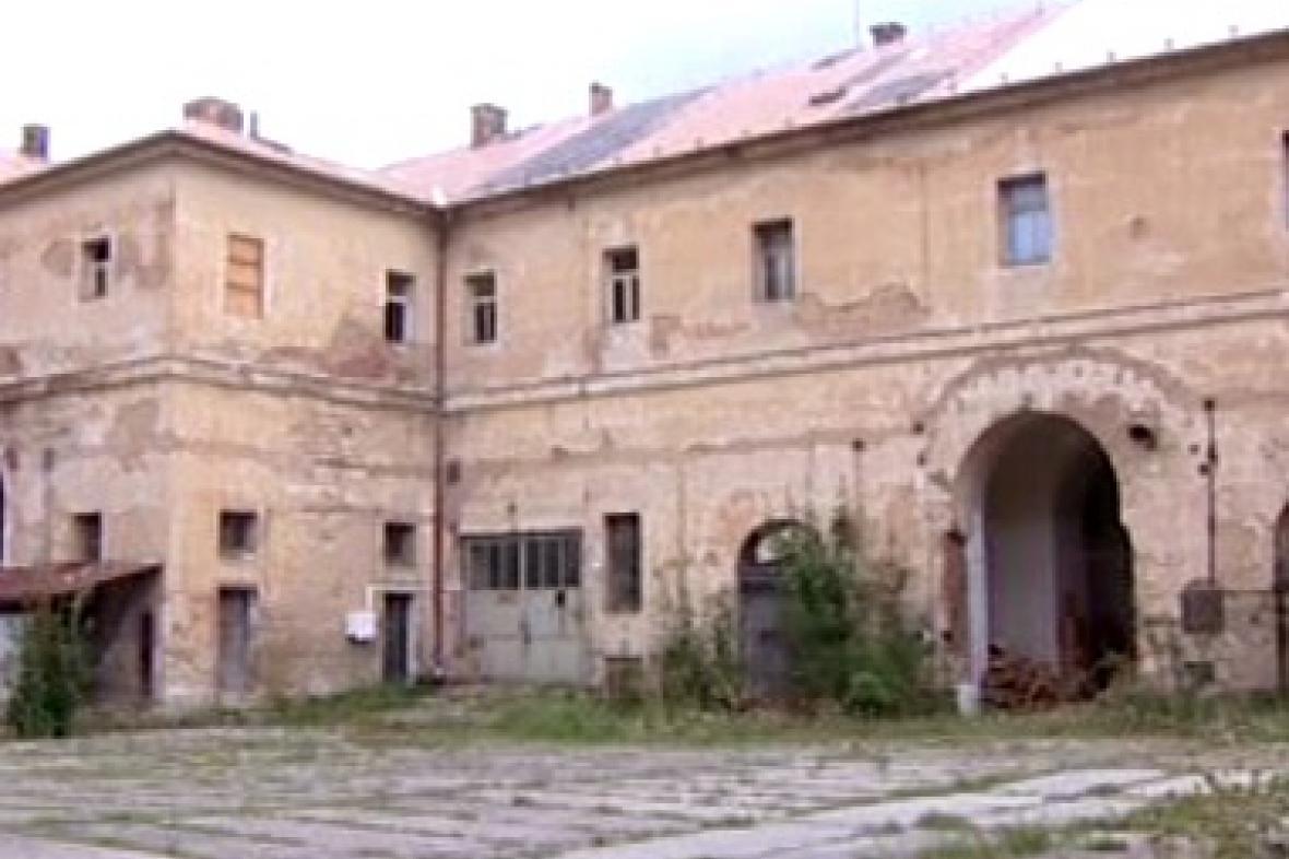 Stará budova v Terezíně