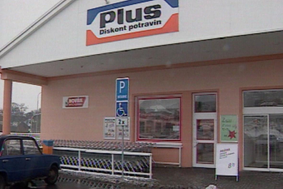 Diskontní prodejna Plus