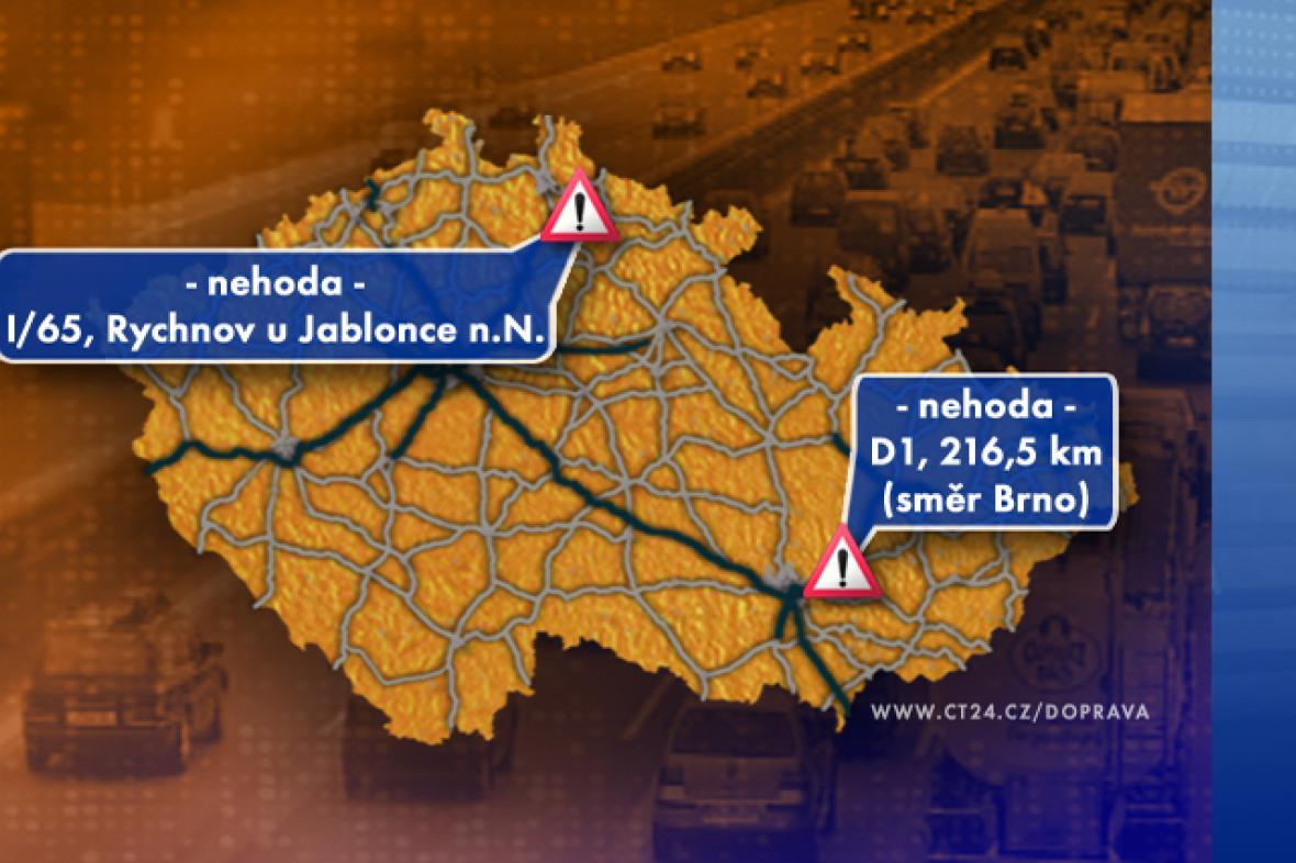 Dopravní situace v pátek 12. 9. 2008
