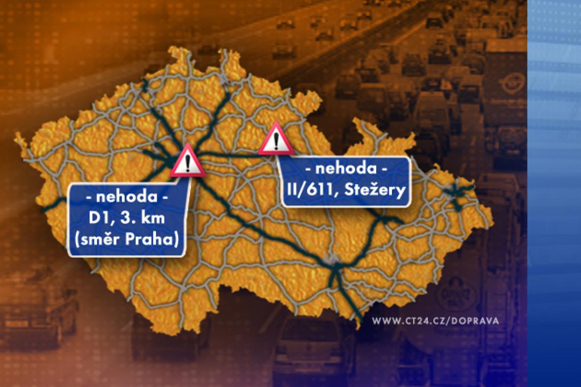 Dopravní situace ve středu 10. 9. 2008