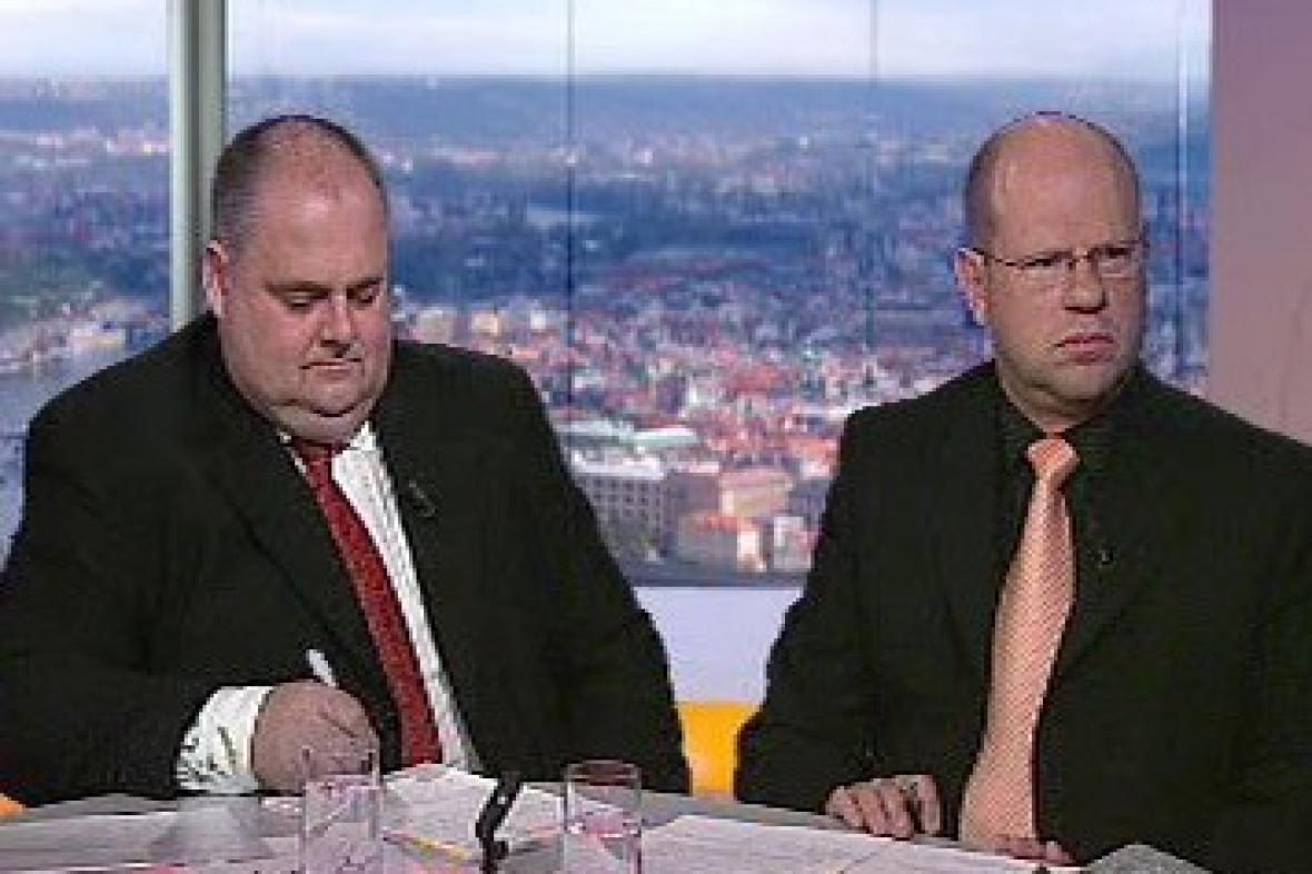 Pavel Řežábek a Petr Kužel