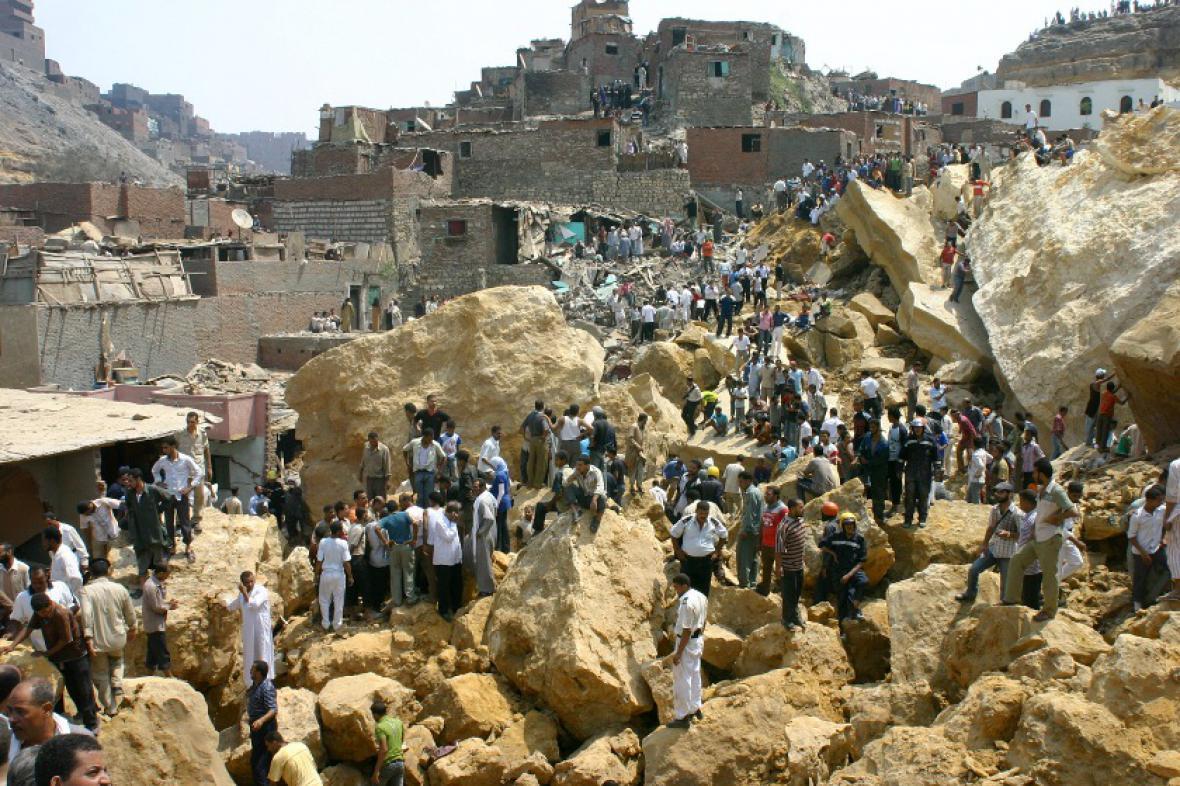 Sesuvy půdy v Egyptě