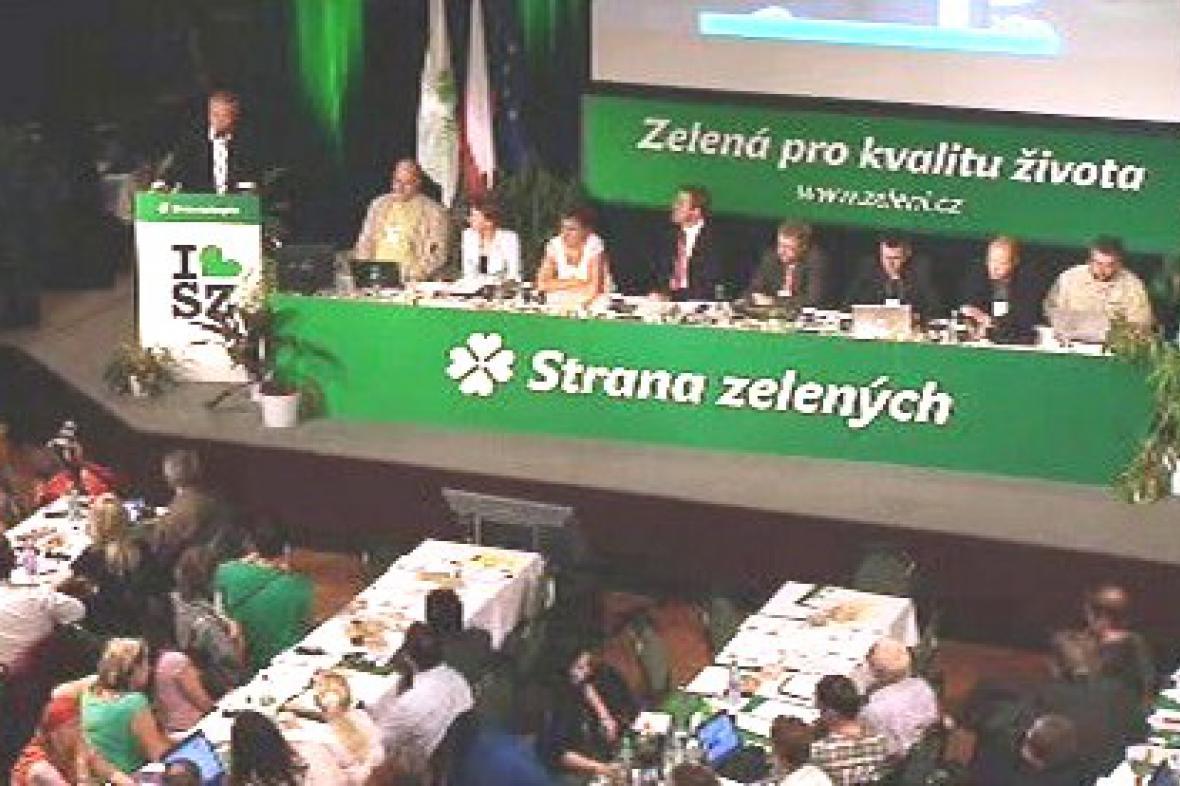 Projev Mirka Topolánka na sjezdu zelených