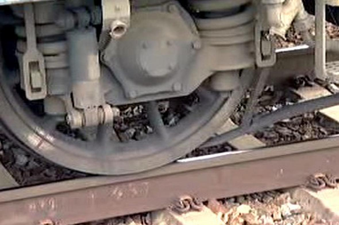 Vlak na kolejnici