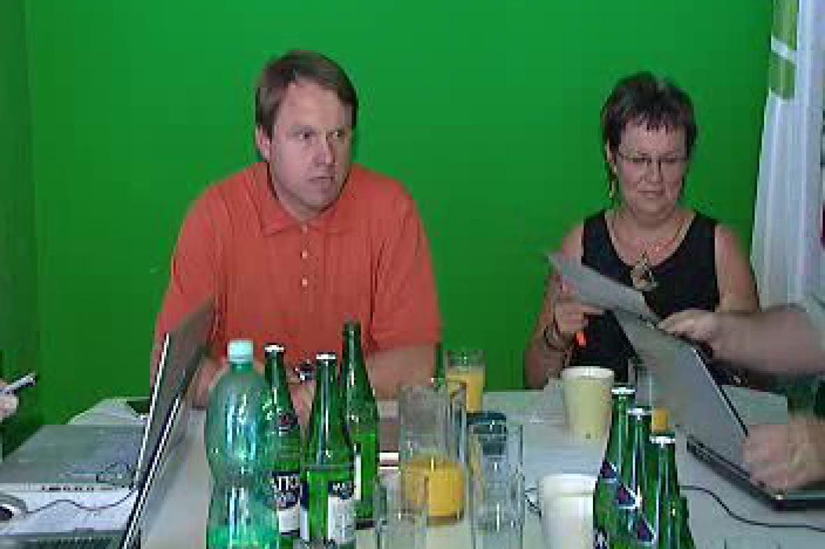 Martin Bursík a Dana Kuchtová
