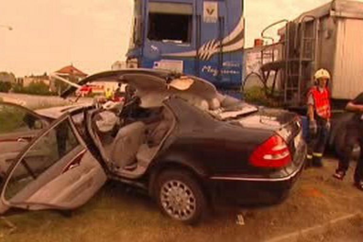 Dopravní nehoda ve Fulneku