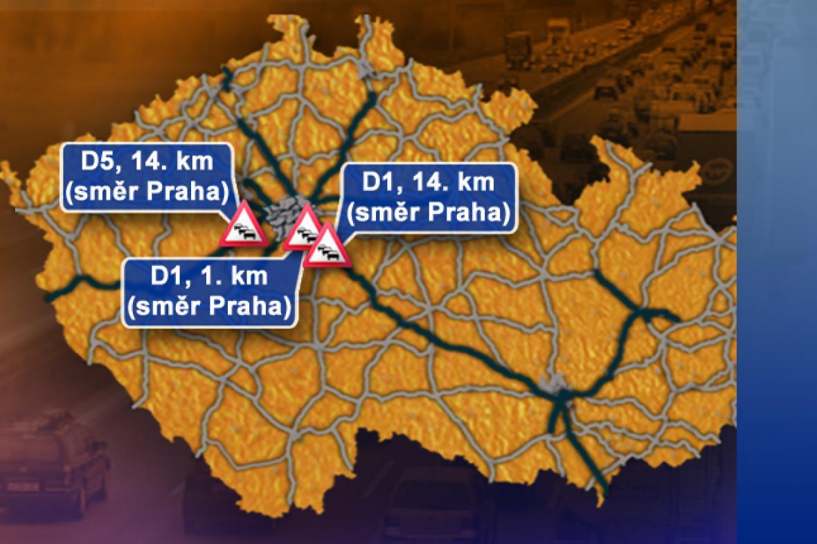 Dopravní situace ve středu 3. 9. 2008
