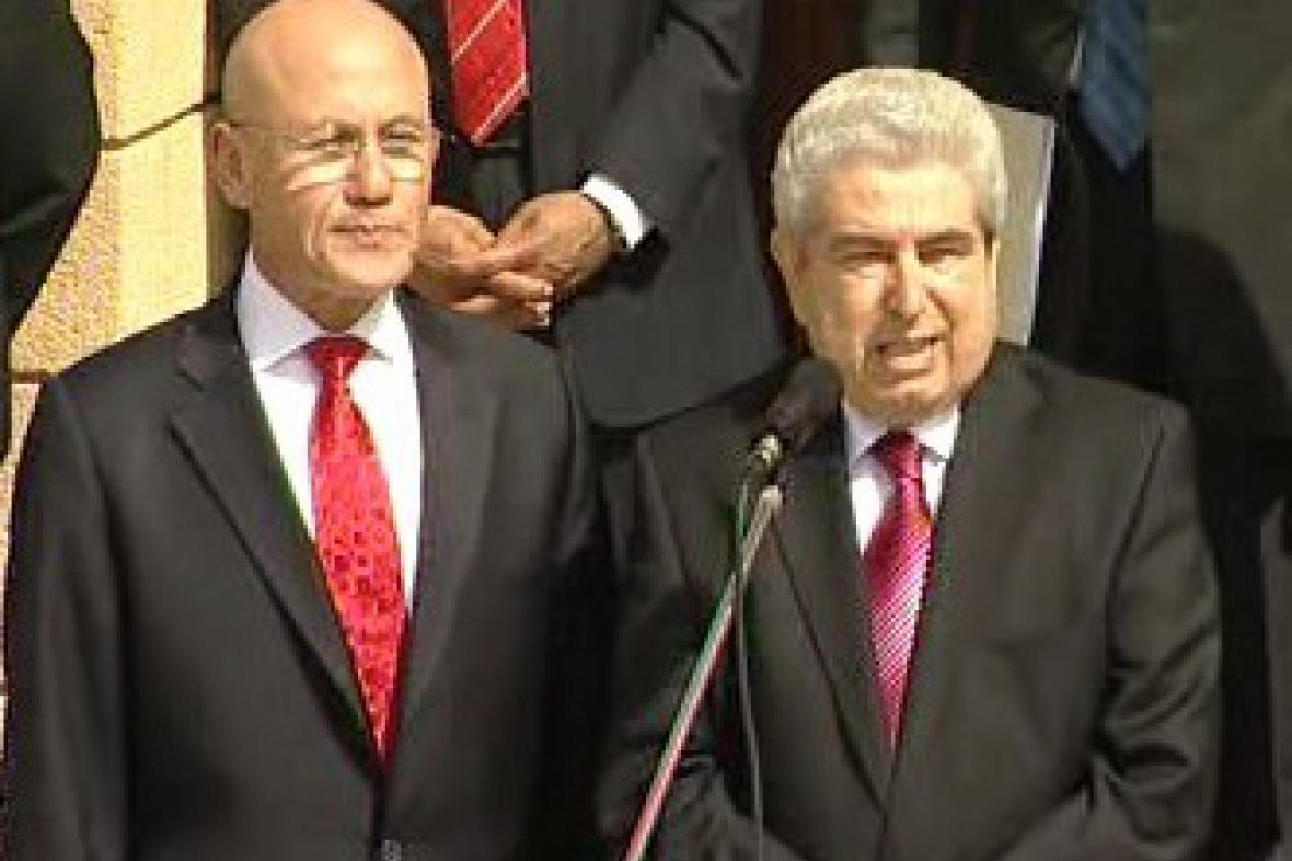 Mehmet Ali Talat a Demetris Christofias