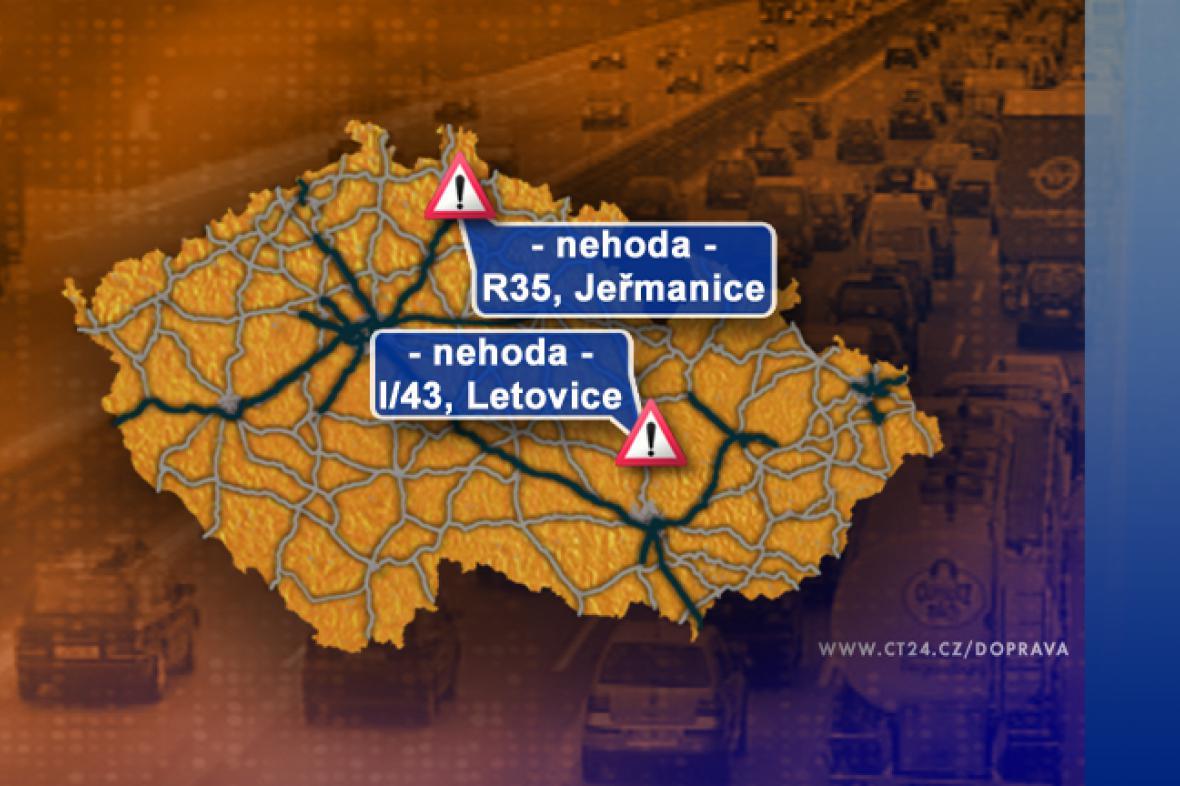 Dopravní situace v úterý 2. 9. 2008