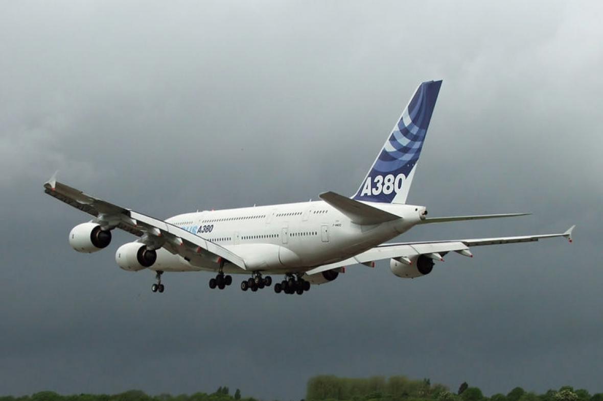 Letadlo Airbus A380