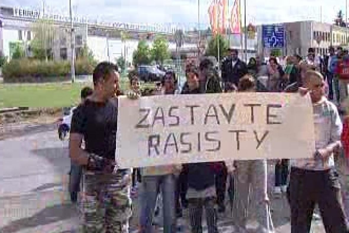 Protesty Romů